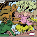 """This is probably a little too niche to describe as """"every parent's worst nightmare,"""" but I'm sure it hit home for someone. (X-Terminators #2)"""