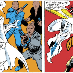 Kitty is ridiculous and also awesome. (Excalibur #1)