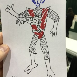 Someone wanted Miles to draw the death of Nightcrawler, so, that happened.