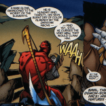 """""""Let's adopt him and, I dunno, feed him scarab blood? Look, man, I'm making this up as I go along."""" (Rise of Apocalypse #1)"""