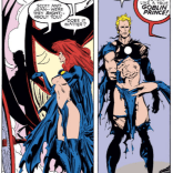 Madelyne Pryor knows from genre conventions. (Uncanny X-Men #242)