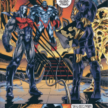 In the Age of Apocalypse, Apocalypse takes over Earth ahead of schedule and makes everything super glam. (X-Men: Alpha)