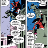 R.I.P., Best Gargoyle Ever. (Excalibur #7)