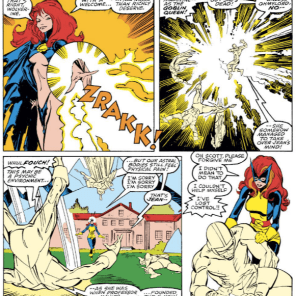 X-Factor will continue to play with this idea to some extent, but it'll fade away pretty fast, and that's a damn shame. (Uncanny X-Men #242)
