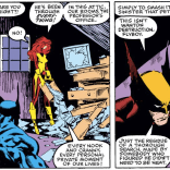 Pawing through the X-Men's stuff is one of the less invasive things Sinister has done in this arc, but there's something extra creepy about it. (Uncanny X-Men #242)