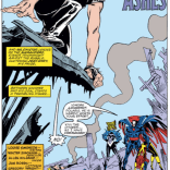 Walter Simonson's ability to make Longshot's hair look good is the eight wonder of the world. (X-Factor #39)