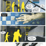 Also some vaguely sinister chess-playing. (Havok & Wolverine: Meltdown #1)