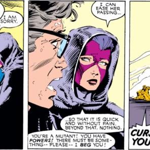 Psylocke looks so sad. Senator Kelly looks so is-going-to-make-some-terrible-decisions.