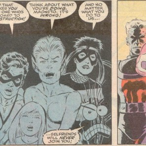 Next time: The New Mutants drop out.