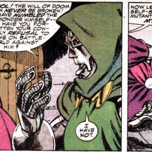 And also watch out for Doom's brain-face! (X-Factor Annual #4)