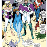 Meet Lightning Force: The Nazi Excalibur you really, really don't need in your life. (Excalibur #9)