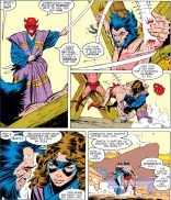 A fine dose of dream logic, fueled by pure continuity. (Uncanny X-Men #251)