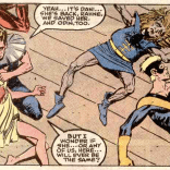"Considering that Rob Liefeld's run starts next issue, I'm gonna go with ""no."" (New Mutants #85)"