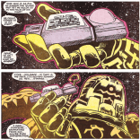 Throwing this one in for scale. Celestials are big. (X-Factor #43)