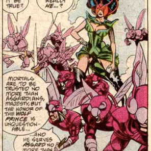 Ula and the Savage Swarm! (New Mutants #84)