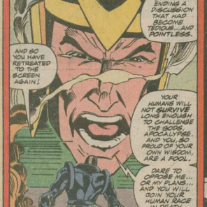 Meanwhile, this nonsense. (X-Factor #50)