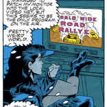 TO WHOM IT MAY CONCERN: I would like to lodge my official complaint regarding this shameless waste of Speed Racer homage. Yrs., Jay Edidin (Excalibur #18)