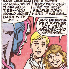Sensible kids! (X-Factor #47)