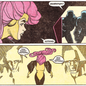 You're hearing this in the Strangers' voices from Dark City, too, right? (X-Factor #48)