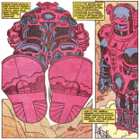I, however, am thoroughly impressed. Look at that snazzy Kirby-designed dude! (X-Factor #48)