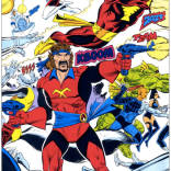 One more Dave Cockrum space-pirate fight, just because we can! (Spotlight on Starjammers #2)