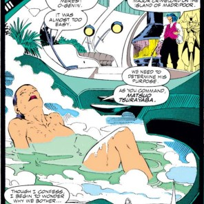 """Boss, I'll be in the meeting room in like five minutes. Come on, this is Me Time!"" (Uncanny X-Men #257)"