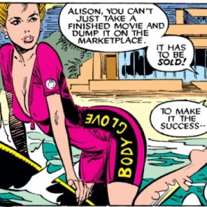 This issue of Uncanny X-Men has been brought to you by Body Glove. Anywave, Anywhere! (Uncanny X-Men #260)