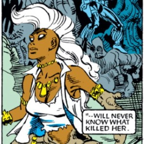 HEY THIS WASN'T IN MY HOROSCOPE FOR TODAY (Uncanny X-Men #262)