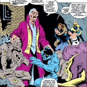 Hey, Masque got a makeover! I kind of dig it. (Uncanny X-Men #263)