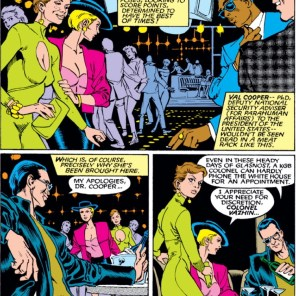 """""""So, the, uh, conference room was taken, I guess..?"""" (Uncanny X-Men #263)"""