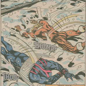 And again: Clearly not supposed to be comical, and yet... (X-Factor #52)
