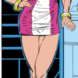 Young lady, you put your feet back on the ground this instant! (New Mutants #88)