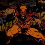 Wolverine violently poses forward! (Wolverine: Rahne of Terra)