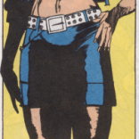 Even odds that they'll be legitimately intimidated by Vixen's killer abs. (Excalibur #27)