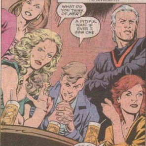 Jeez, devouring people's souls isn't enough - you have to be all mean-girls about it too? (X-Factor #56)