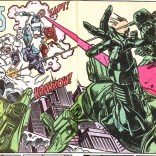 Suddenly, green guys! Nice work, Andy Kubert. (X-Factor #57)