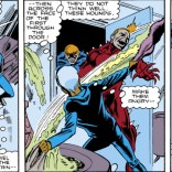 Storm commands the lightning and the storm and the wet towel right in your face! (Uncanny X-Men #266)