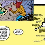 Copying and pasting artwork from The Official Handbook of the Marvel Universe - work smarter, not harder! (New Mutants #90)