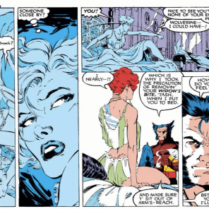 """Look, it was this or leather pants."" (Uncanny X-Men #268)"