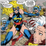 """Now put on some damn pants and fight me!"" (Uncanny X-Men #269)"