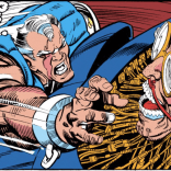I'm pretty sure this is the first hint we've gotten at Cable's mutant powers. (Based on eventually-established continuity, he should be dying of the T-O virus right now, but that wouldn't be written in until much later.) (X-Factor #61)