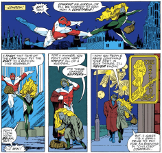 These two have their moments. (Excalibur #28)