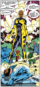MIND, SPIRIT, and BODY! (Uncanny X-Men #272)