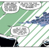 The original creative teams will be played by Storm in this panel. (Uncanny X-Men #273)