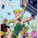 Namorita is great. (New Warriors Annual #1)