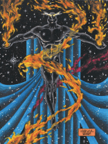 So, yeah. Giant Naked Cosmic Nazi Space Xavier. (Excalibur: Weird War III)