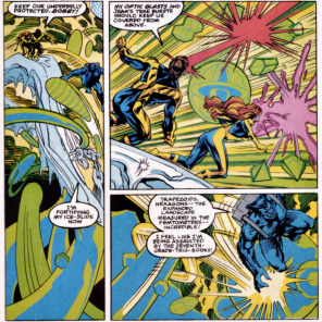 None of my math textbooks were ever this psychedelic. (X-Factor Annual #6)