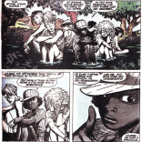 Mookie has a bright future in P.R. (New Mutants Summer Special)