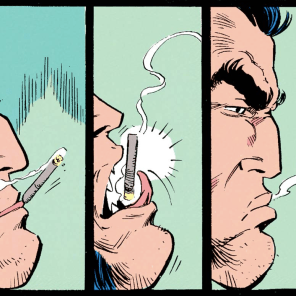 NEXT EPISODE: Don't smoke, kids. (Also, the Muir Island Saga concludes.)