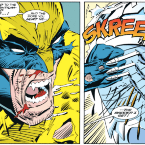 Aw, Logan. Never change. (Wolverine #50)